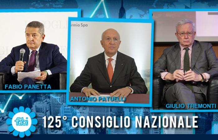 Panetta, Patuelli e Tremonti al 125° Consiglio Nazionale Fabi