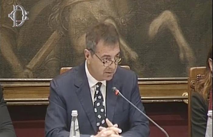 Lando Sileoni in audizione alla Commisione finanze della Camera