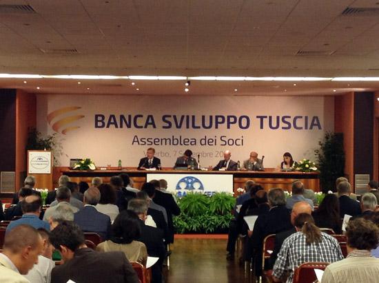 Un ramo della Banca popolare del Lazio confluisce nella Banca sviluppo Tuscia